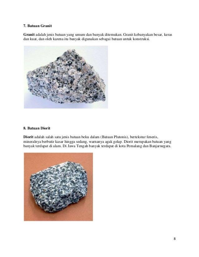 Batuan diorit - photo#13