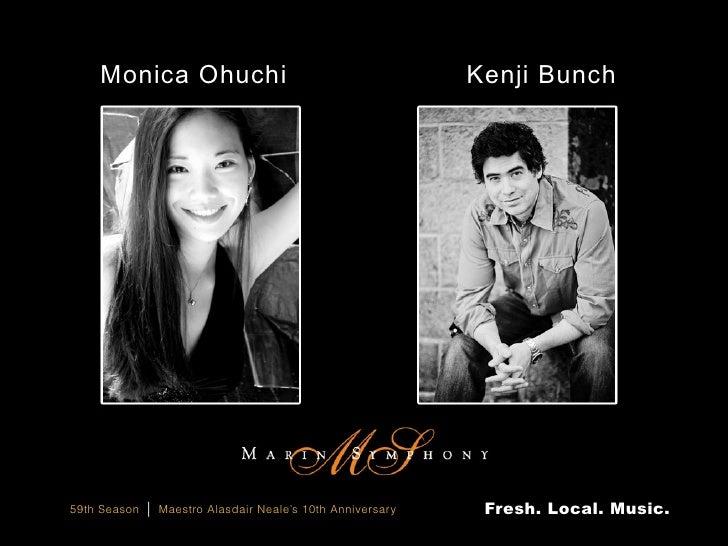 Marin Symphony, Visionary Mahler, Kenji Bunch, Guest Artist Monica Ohuchi