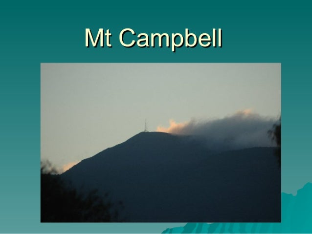 Mt Campbell
