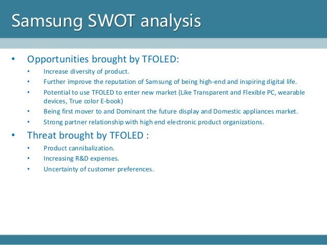 Diversification strategy of samsung company