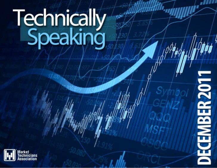 DECEMBER 2011   TECHNICALLY SPEAKING | 1
