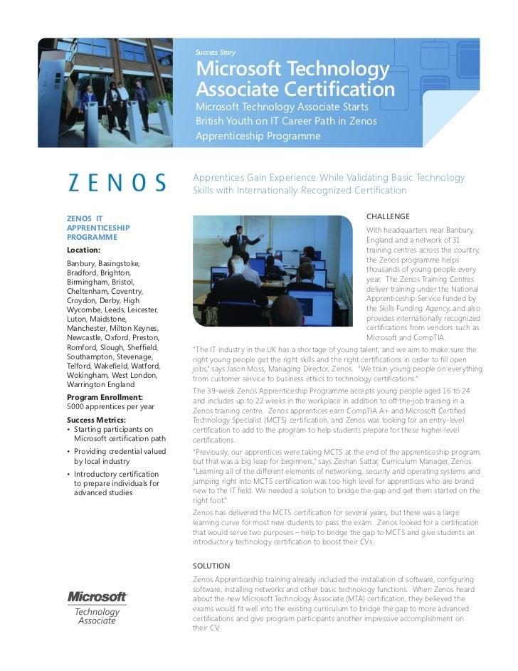 MTA Success Story - Zenos