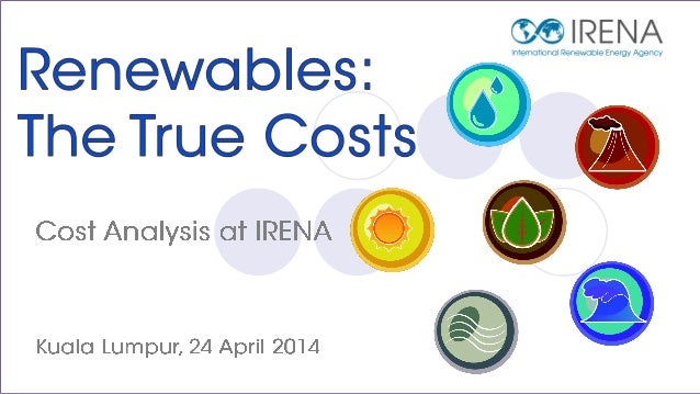 The Cost of Renewables in ASEAN Countries