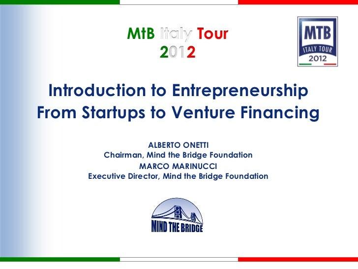 Mtb Italy Tour 2012