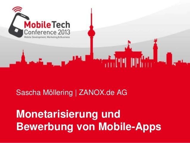 Sascha Möllering | ZANOX.de AG Monetarisierung und Bewerbung von Mobile-Apps