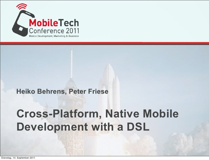 Cross-Platform, Native Mobile Development with a DSL