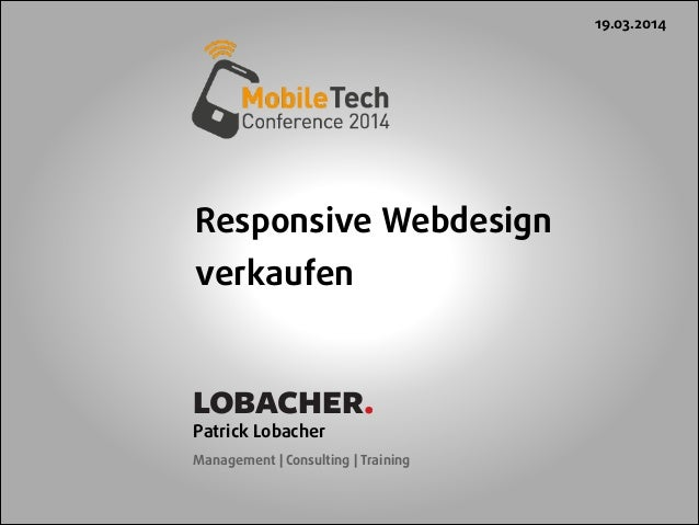 Responsive Webdesign verkaufen