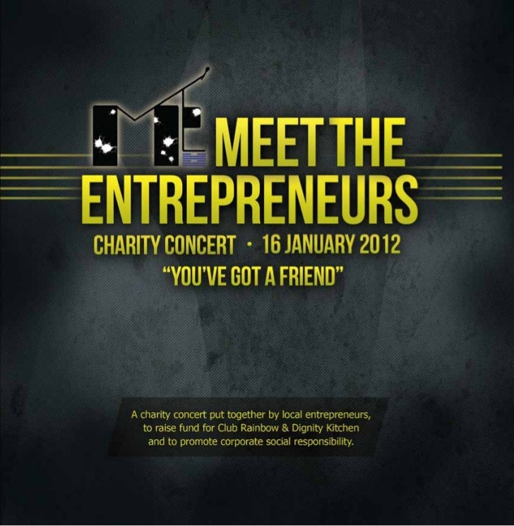 MTE Charity Concert 2012 Booklet