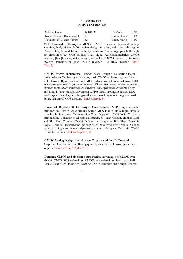 M Tech New Syllabus(2012)