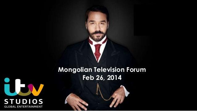 Mongolian Television Forum Feb 26, 2014