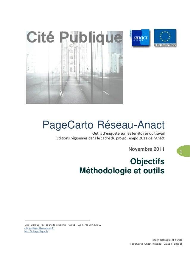1                    PageCarto Réseau-Anact                                                       Outils d'enquête sur les...