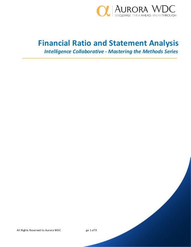 specialization paper on finance