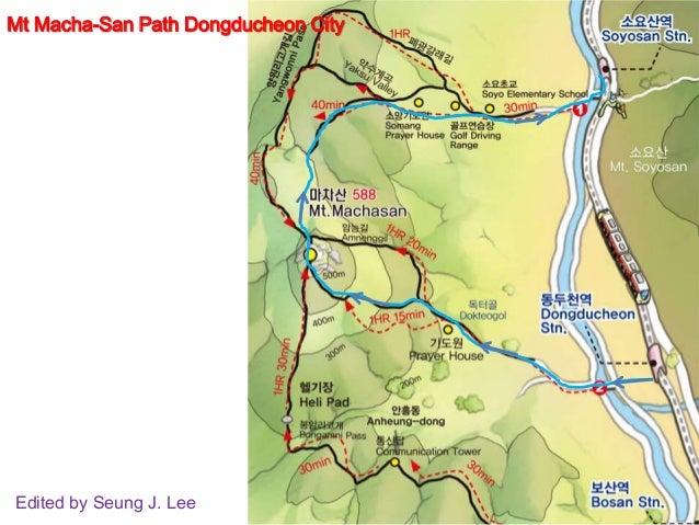 Mt macha san path dongducheon city near seoul korea