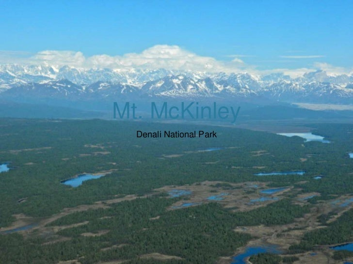 Mt. McKinley<br />Denali National Park<br />