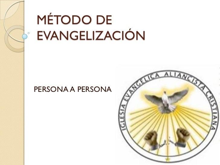 Método de evangelización