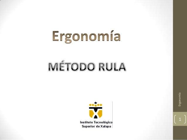 Ergonomía1