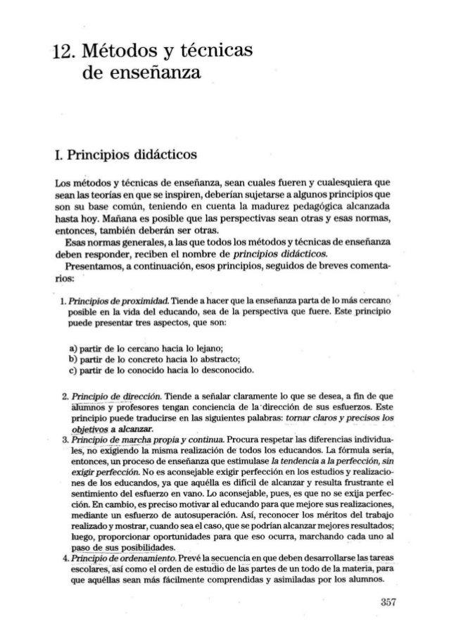 MÉTODOS Y TÉCNICAS DE ENSEÑANZAS-IMÍDEO G. NERICI