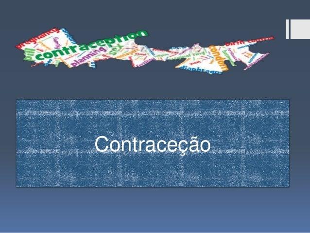 Métodos contracetivos