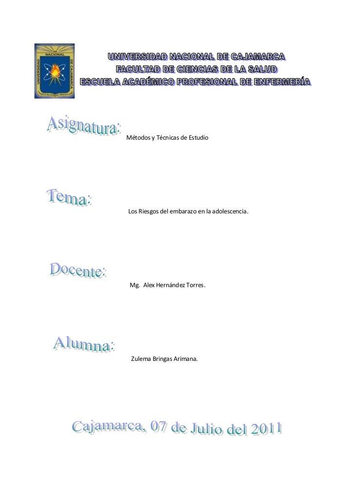 Métodos y técnicas de estudio monografia