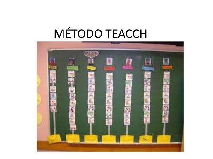 MÉTODO TEACCH