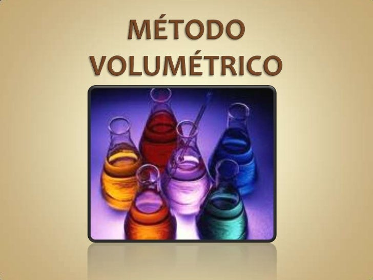 Método volumétrico