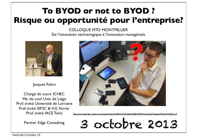 Jacques Folon Chargé de cours ICHEC Me. de conf. Univ. de Liège Prof. invité Université de Lorraine Prof invité ISFSC & H....