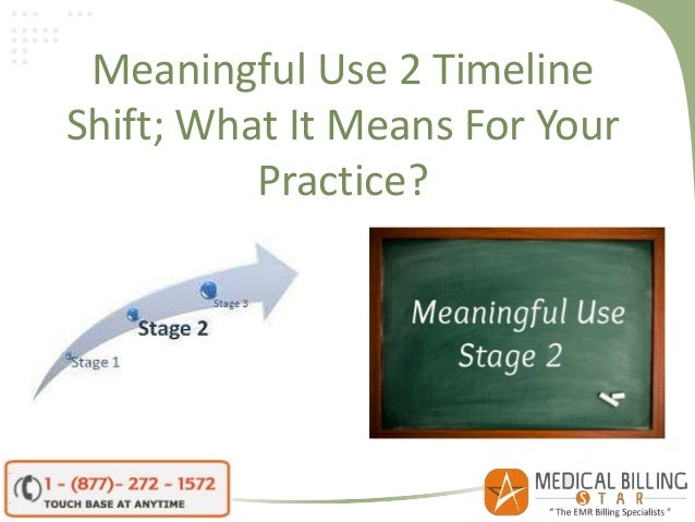 Meaningful Use 2 Timeline Shift; What It Means For Your Practice?