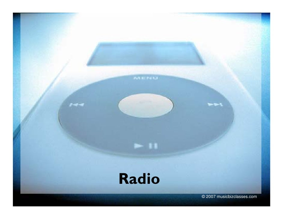 MUC110  LEC 9. Radio