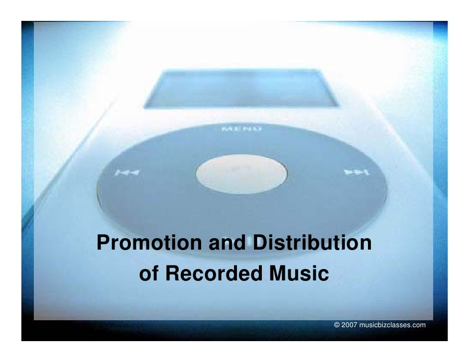 MUC110 LEC4.Record Promotion and Distribution
