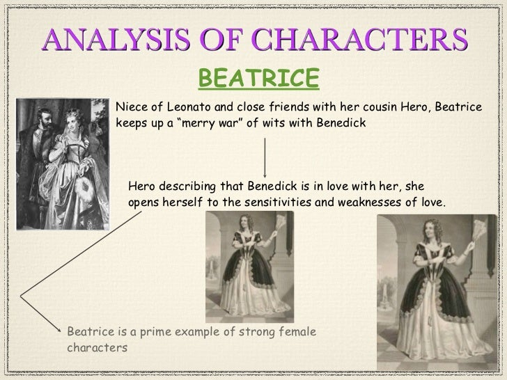 essays on beatrice from much ado about nothing Essays related to much ado about nothing much ado about nothing is written so that the in much ado about nothing the two couples are beatrice and.