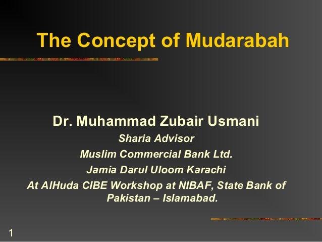 Mudarabah by muhammad zubair usmani