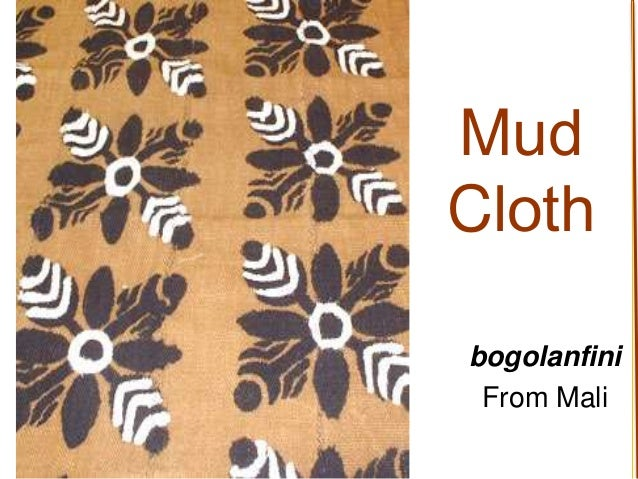 Mud Cloth bogolanfini From Mali