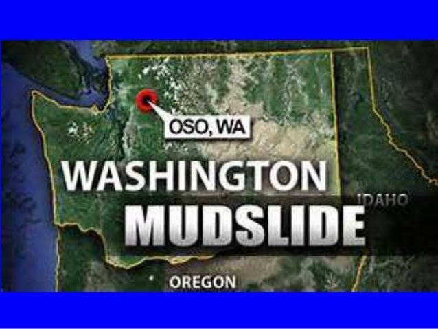 Mudslide Disaster In Washington State USA 22 March 22 2014