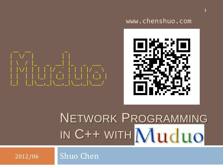 Muduo network library