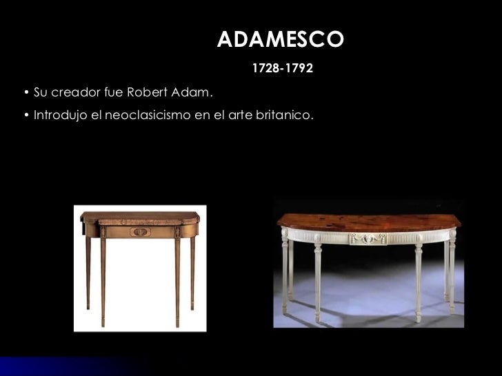 Muebles estilos - Estilos de mobiliario ...