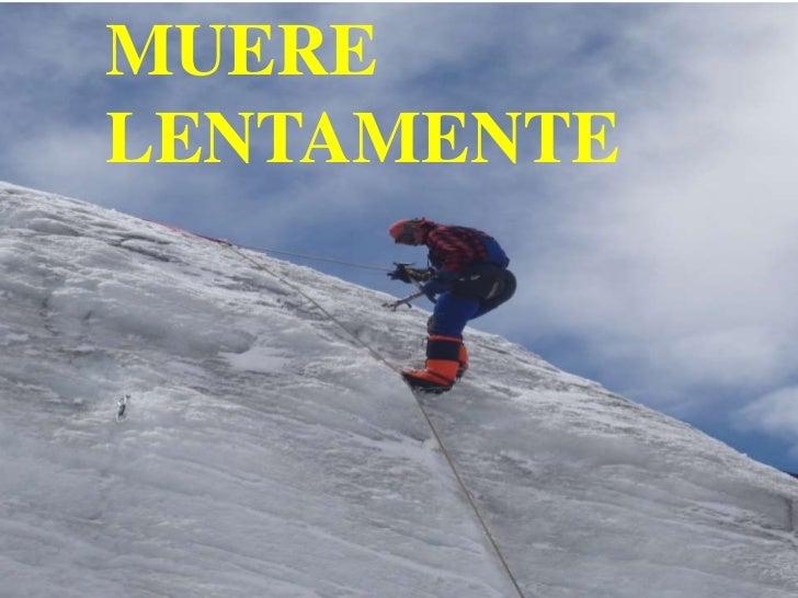 MUERELENTAMENTE    Moises Logroño G.