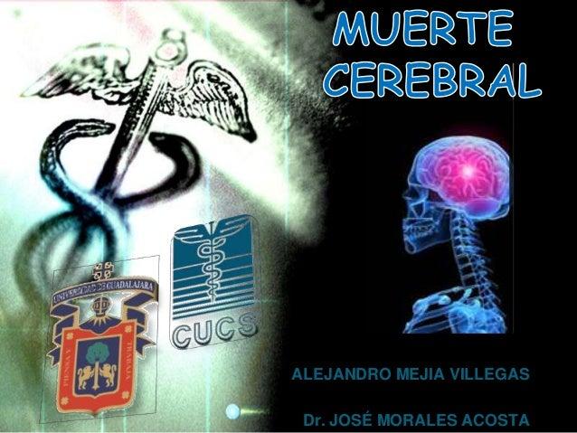 ALEJANDRO MEJIA VILLEGAS Dr. JOSÉ MORALES ACOSTA