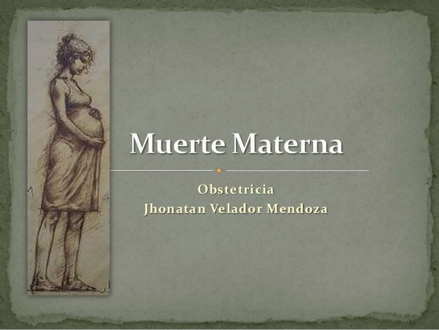ObstetriciaJhonatan Velador Mendoza