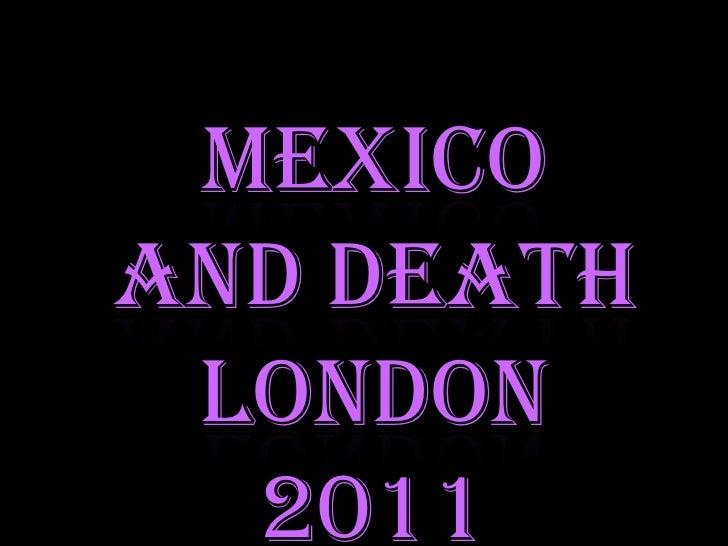 Muertos londres