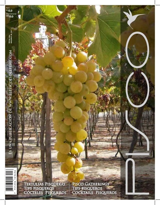FECHA: Junio EDICIÓN N°: 00_2011  Es una publicación de www.elpiscoesdelperu.com  Tertulias Pisqueras Tips pisqueros Cócte...