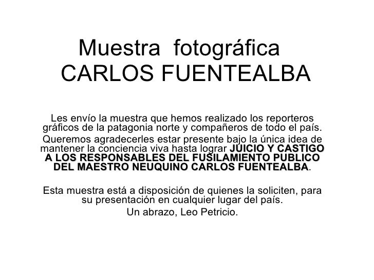 Muestra Final[1][1]  Justicia Para Carlos Fuentealba 04   Iv   2008