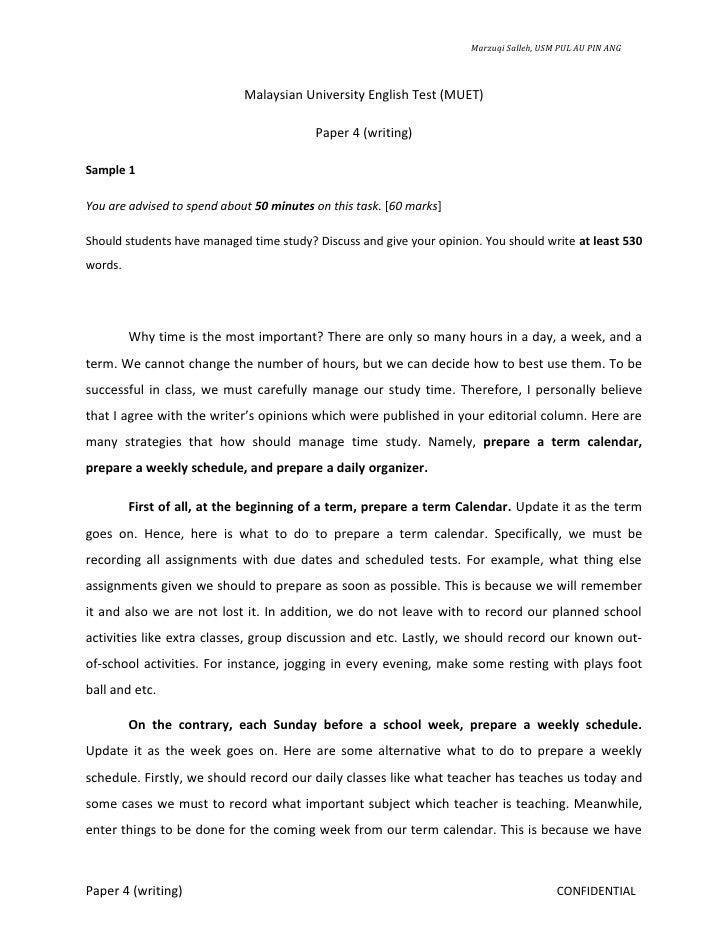 sample muet essay Download muet sample essay question 1 torrent for free.