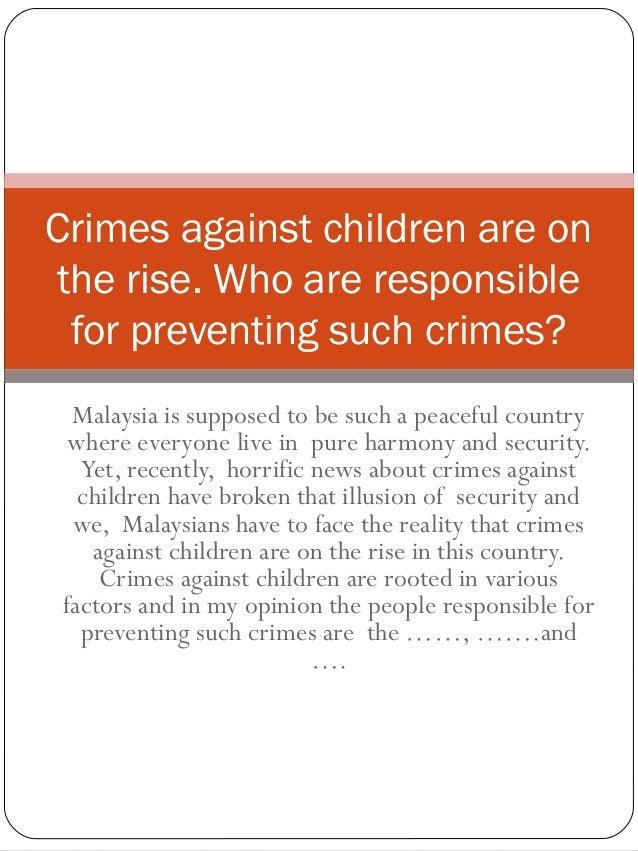 crime against children essay