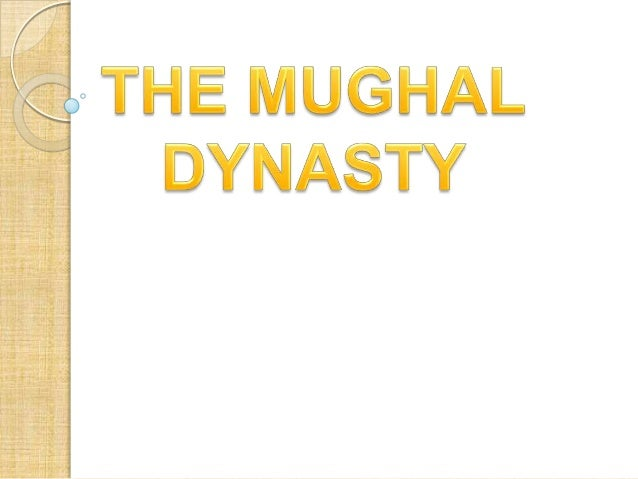 WHAT WAS MUGHAL       EMPIRE?   THE MUGHAL EMPIRE was an    imperial power in the Indian    subcontinent from about 1526 ...