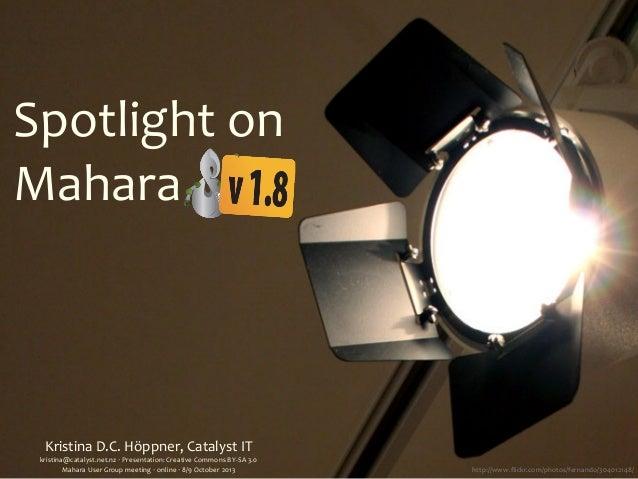 Kristina  D.C.  Höppner,  Catalyst  IT kristina@catalyst.net.nz  ‧  Presentation:  Creative  Commons  BY...