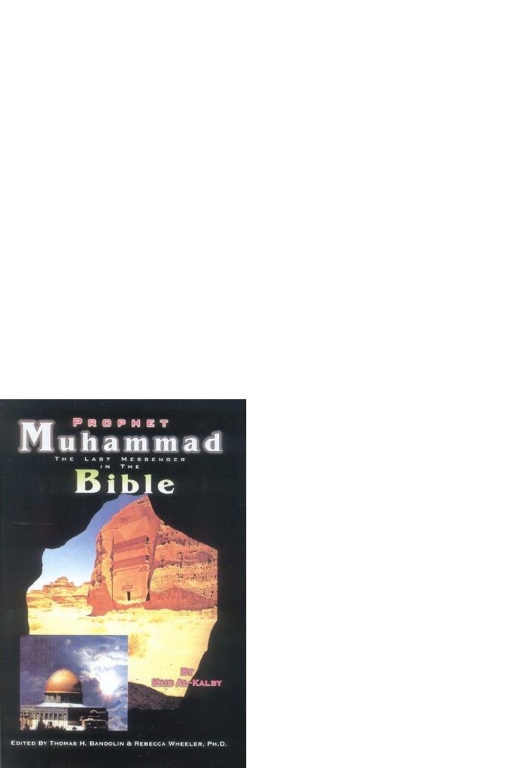 Prophet Muhammad PBUH The Last Messenger in the Bible