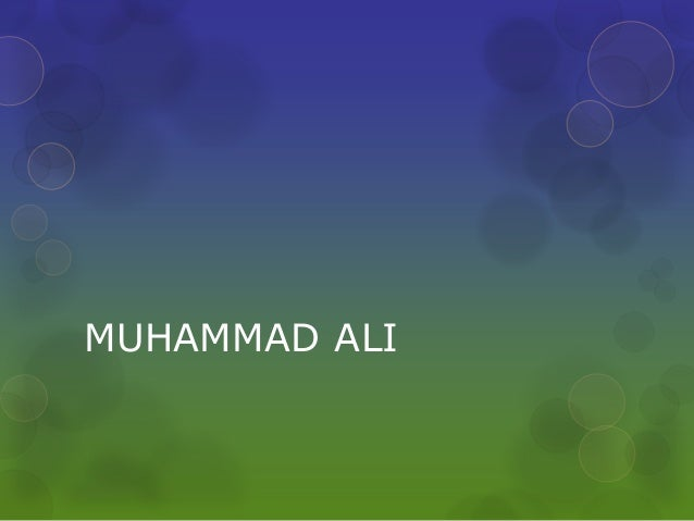 muhammad ali research paper thesis Muhammad ali muhammad ali is a retired american professional boxer who was born on 17th january how to get a psychology paper for free getting a research essay.