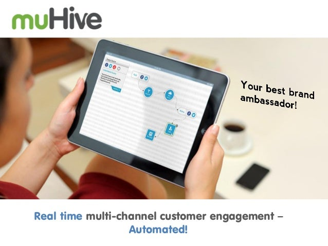 muHive - real time automated customer engagement platform