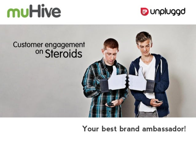 Your best brand ambassador!