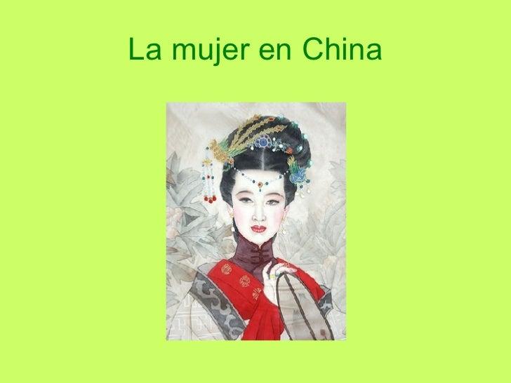 La mujer en China